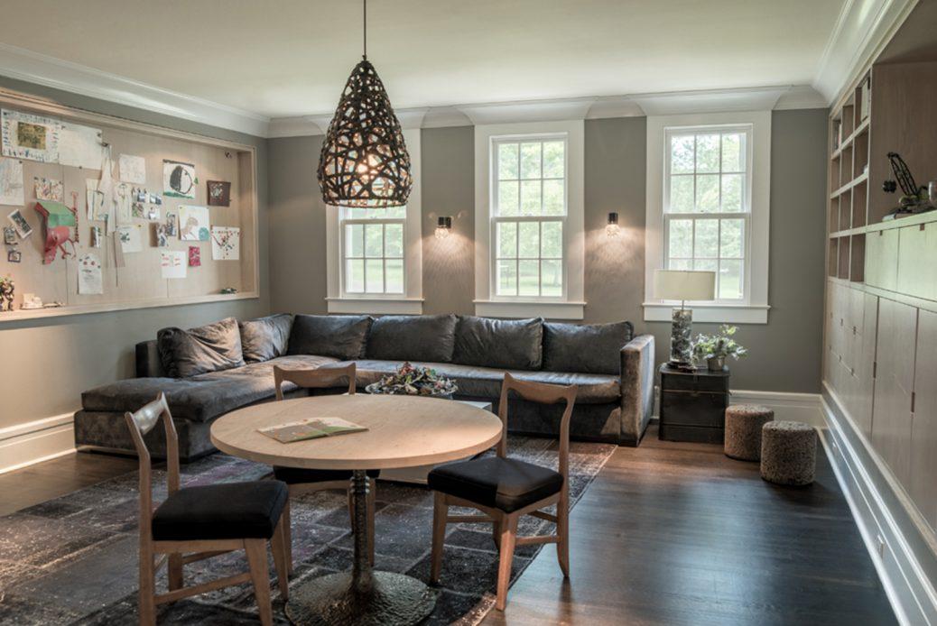 modern waterfront darien michael haverland architect livingroom