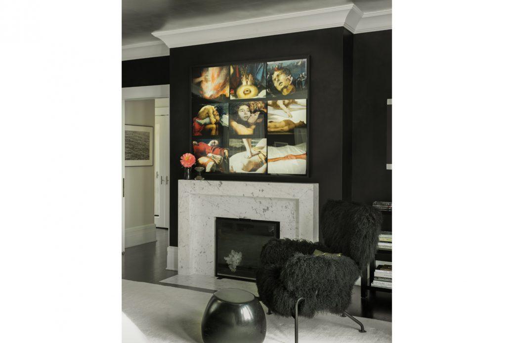 modern waterfront darien michael haverland architect fireplace