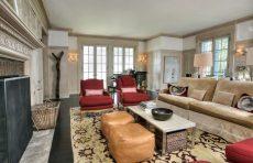 modern waterfront darien michael haverland architect living room
