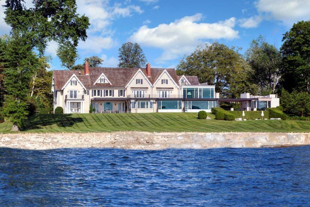 modern waterfront darien michael haverland architect waterfront
