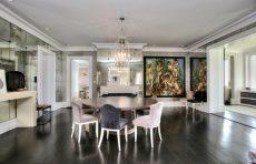 modern waterfront darien michael haverland architect dining room