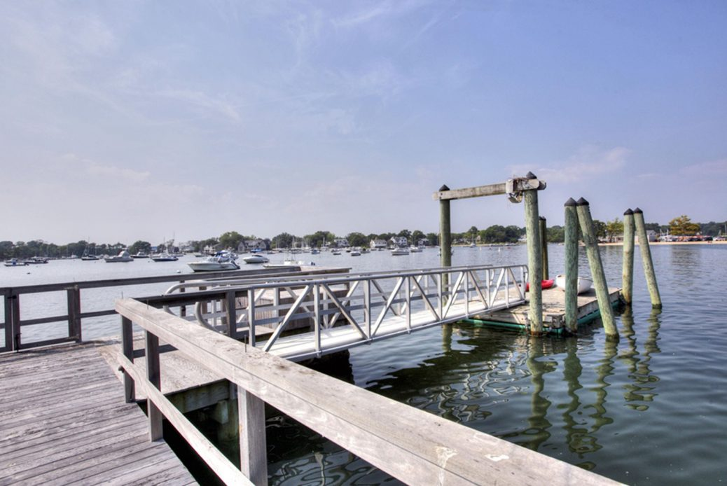 modern waterfront darien michael haverland architect dock