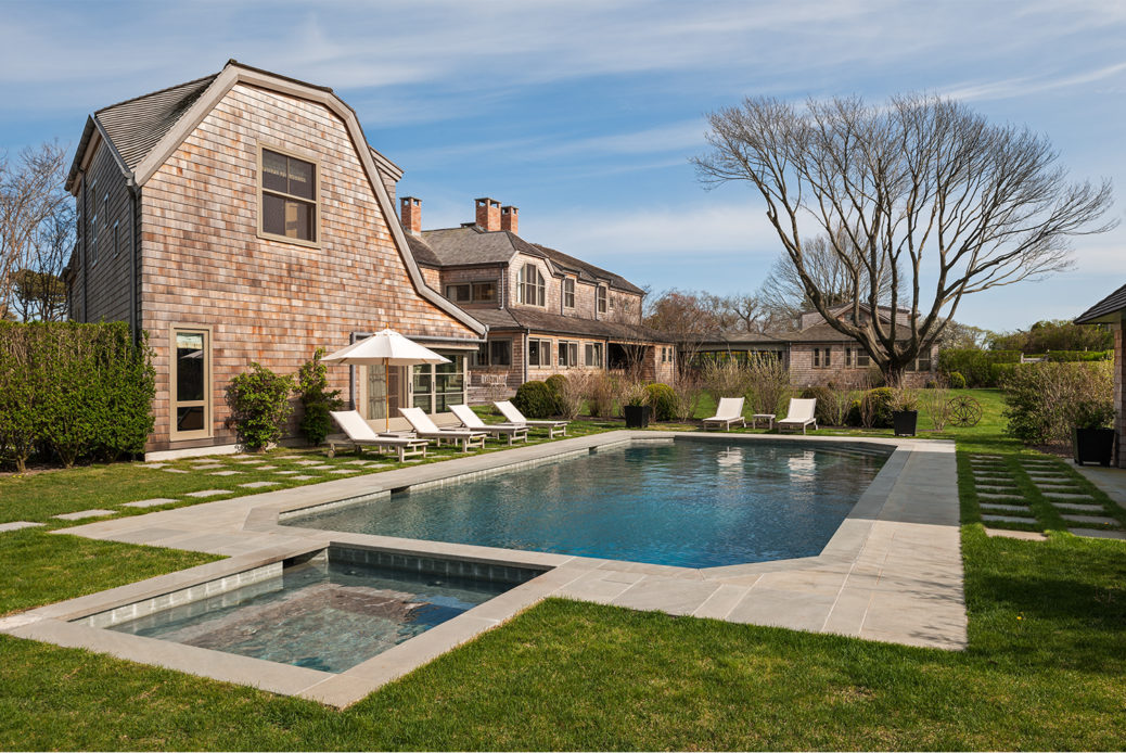 Century Old East Hampton Sanvold Blanda Architecture Pool