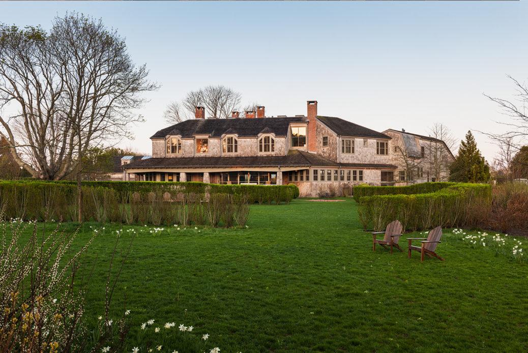 Century Old East Hampton Sanvold Blanda Architecture Rear Exterior