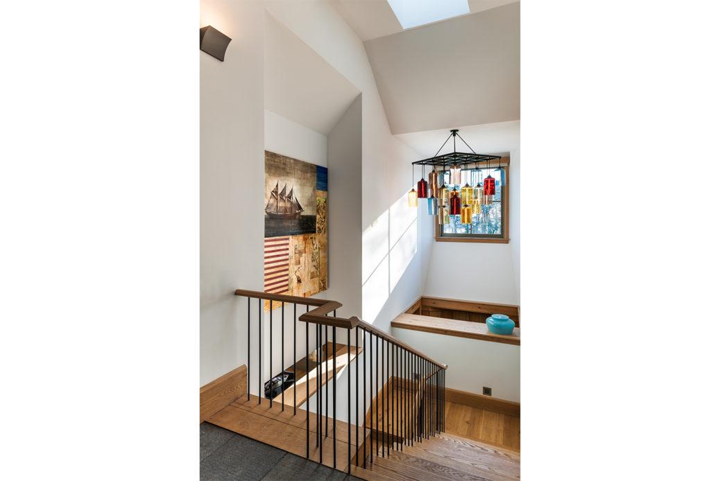 Century Old East Hampton Sanvold Blanda Architecture Stairway