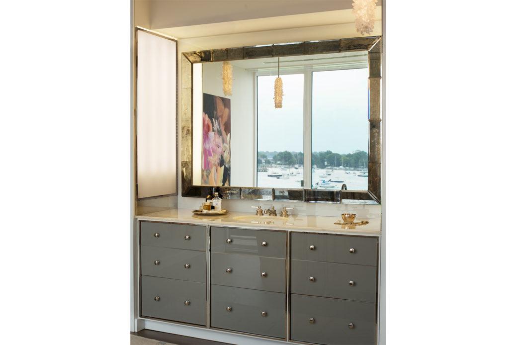 modern waterfront darien michael haverland architect bathroom