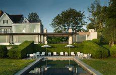 modern waterfront darien michael haverland architect pool