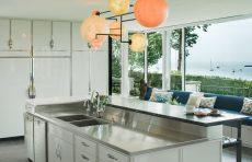 modern waterfront darien michael haverland architect kitchen